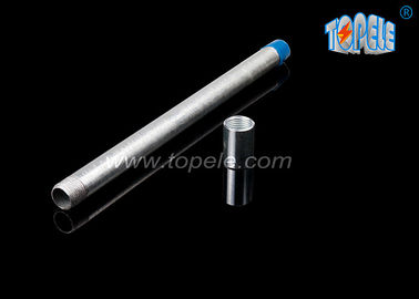 Galvanized IMC Conduit  Steel Pipe ,  IMC Conduit And Fittings With 2 Hole Straps