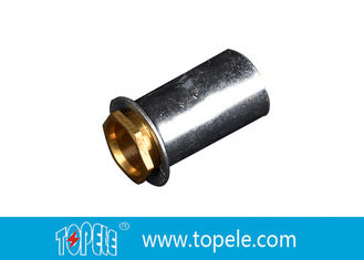TOPELE 25mm / 32mm BS Electrical Conduit Galvanized Coupling With Brass Coupler